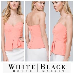 NWT White House Black Market Bustier Top